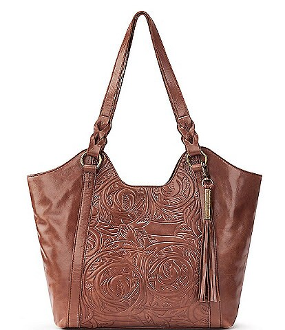 The Sak Sierra Embossed Shopper Tote Bag