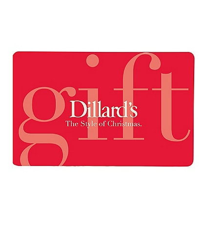 The Style of Christmas Red Gift Card