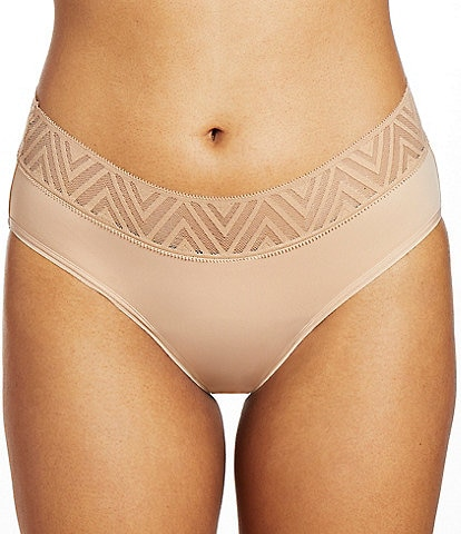 Thinx Hiphugger Hipster Mid Rise Lace Panty