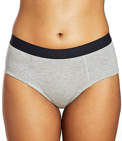 Thinx Super Cotton Mid Rise Brief Panty