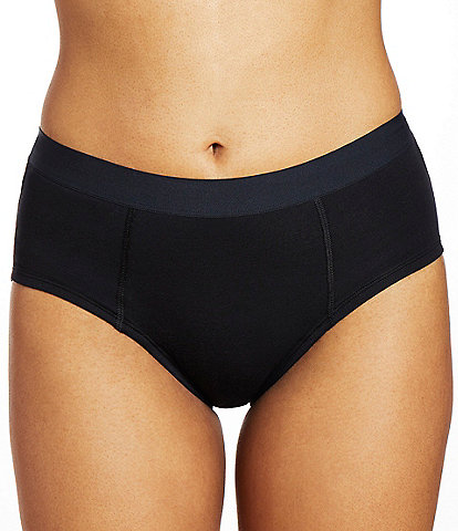 Thinx Super Cotton Waistband Brief Mid Rise Panty