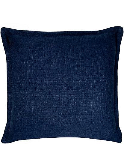 Thread and Weave Brentwood Blue Square Pillow