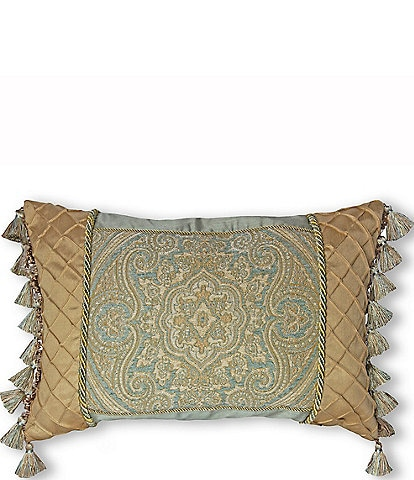 Thread and Weave Newport Pieced Boudoir Pillow