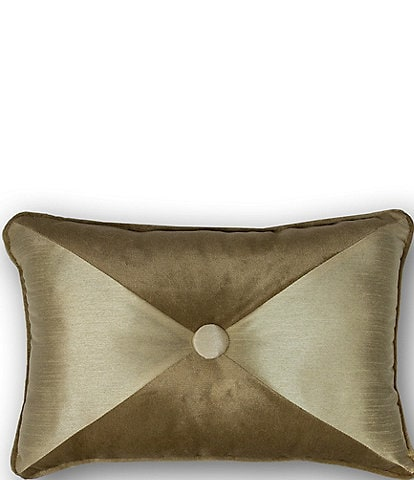 Thread and Weave Westlake Button Tufted Boudoir Pillow
