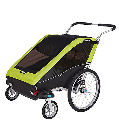 Thule Chariot Cheetah XT 2 Multisport Double Cycle Trailer and Stroller
