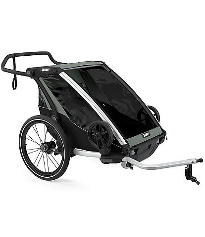 Thule Chariot Lite 2 Multisport Double Cycle Trailer and Stroller