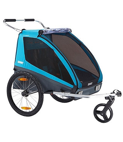 Thule Coaster XT Double Stroller and Bike Trailer