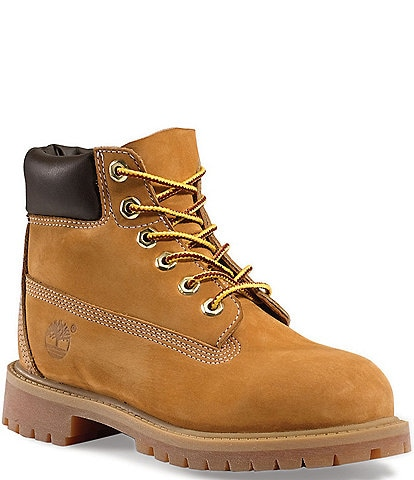 Timberland Boys' 6#double; Classic Waterproof Boots