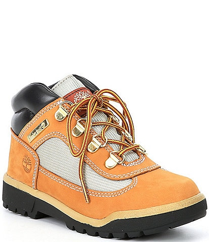 Timberland Boys' Field Nubuck Leather And Mesh Boots (Youth)