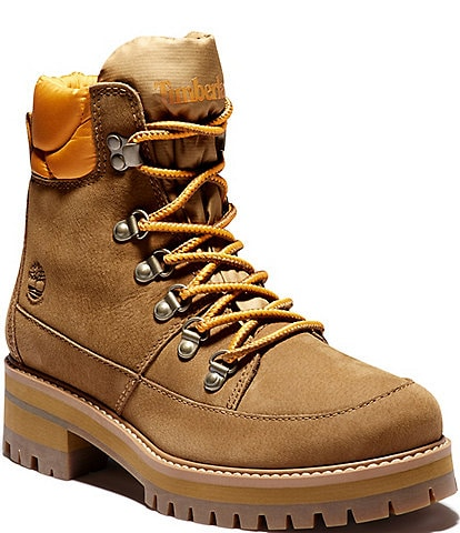 Timberland Courmayeur Valley Waterproof Leather and Fabric Hiker Booties