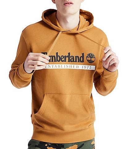 Timberland Established 1973 Long-Sleeve Organic Materials Hoodie