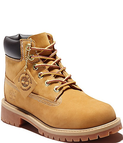 Timberland Kids' Classic 6#double; Waterproof Boots (Youth)