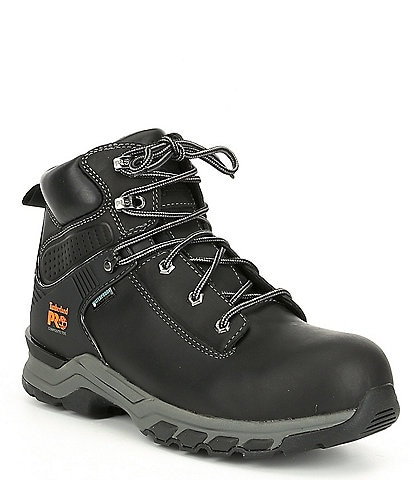 Timberland Men's 6#double; Hypercharge Waterproof Work Boots