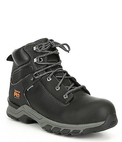 Timberland Men's 6#double; Hypercharge Waterproof Work Boots
