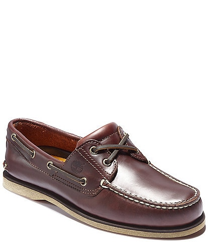 Timberland Men's Classic Leather Boat Shoes