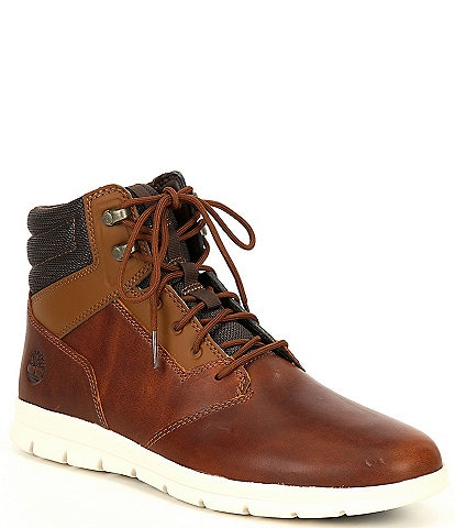 Timberland Men's Graydon Leather Water Resistant Sneaker Boots