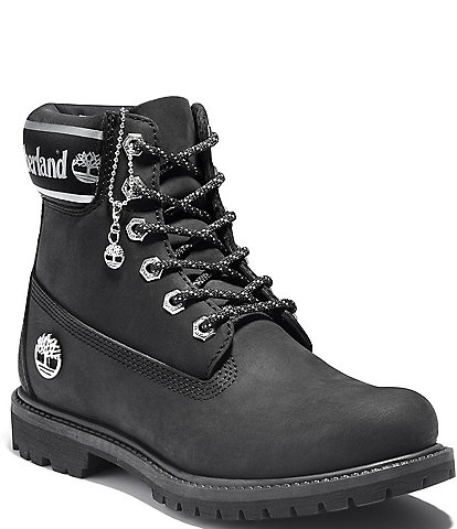 Timberland Premium Waterproof Fabric and Leather Booties