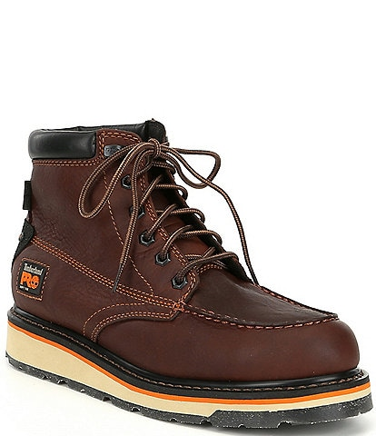 Timberland PRO Men's 6#double; Gridworks Waterproof Work Boots