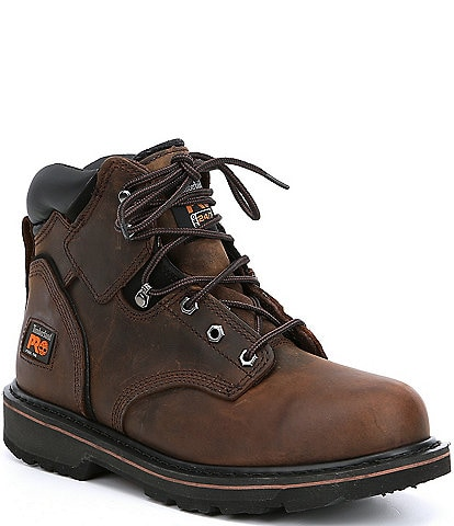 Timberland PRO Men's 6#double; Pit Boss Steel Toe Work Boots