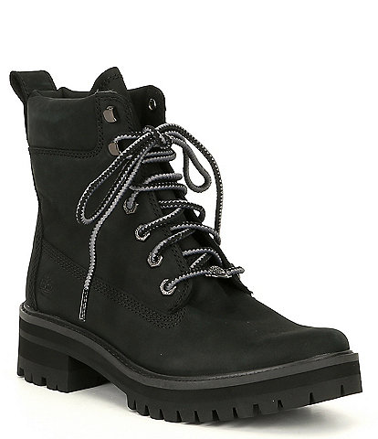 Timberland Women's Courmayeur Valley Leather Combat Boots