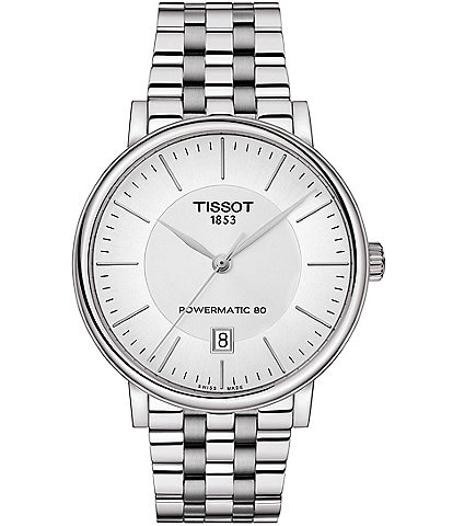 Tissot Carson Powermatic Men's Bracelet Watch