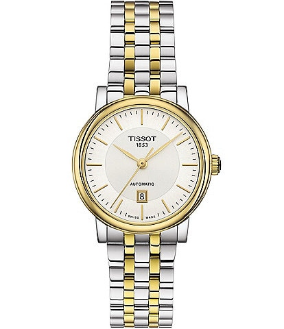 Tissot Carson Women's Automatic Bracelet Watch