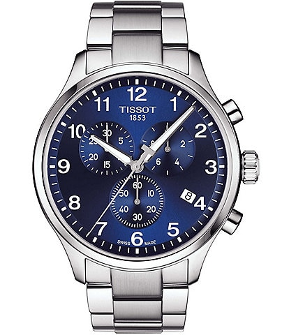 Tissot Chrono XL Classic Stainless Steel Bracelet Watch