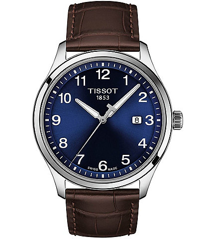 Tissot Gent XL Leather Classic Stainless Steel Watch