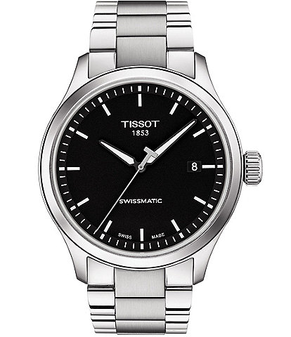 Tissot Gent XL Swissmatic Stainless Steel Black Dial Watch