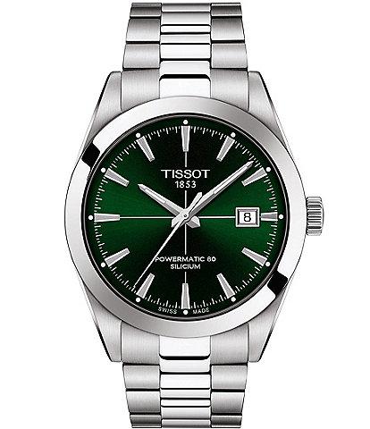 Tissot Gentleman Powermatic 80 Silicium Bracelet Watch