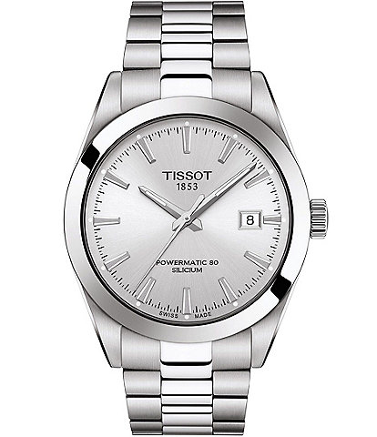 Tissot Gentleman Powermatic Stainless Steel Automatic Bracelet Watch