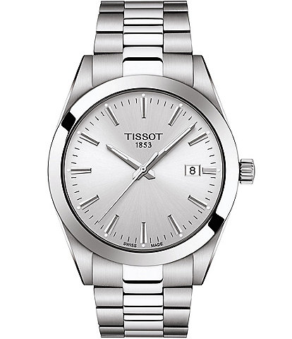 Tissot Gentleman Stainless Steel Bracelet Watch