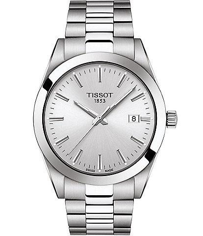 Tissot Gentleman Stainless Steel Bracelet Watch