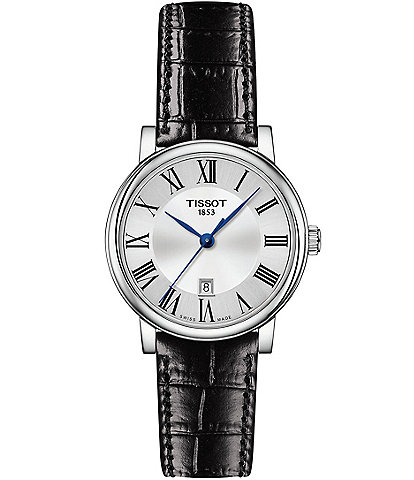 Tissot Ladies Carson Premium Leather Strap Watch
