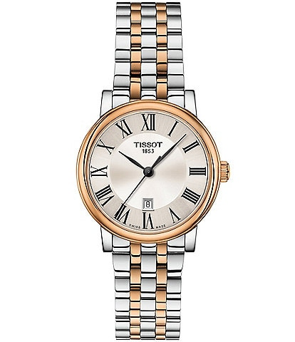 Tissot Ladies Carson Premium Two Tone Bracelet Watch