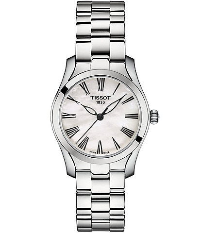 Tissot Ladies T-Wave Stainless Steel Bracelet Watch