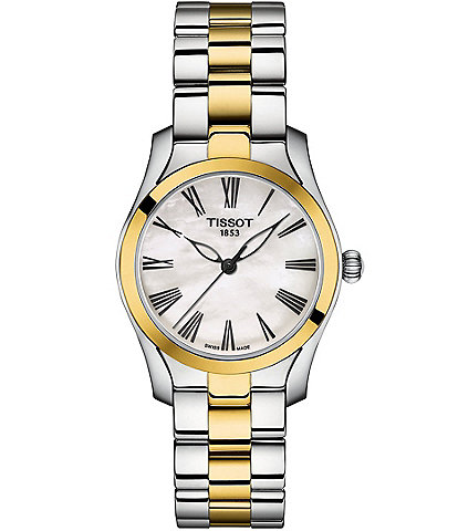 Tissot Ladies T-Wave Two Tone Bracelet Watch