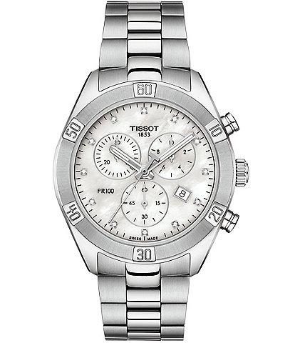 Tissot PR 100 Sport Chic Chronograph Watch