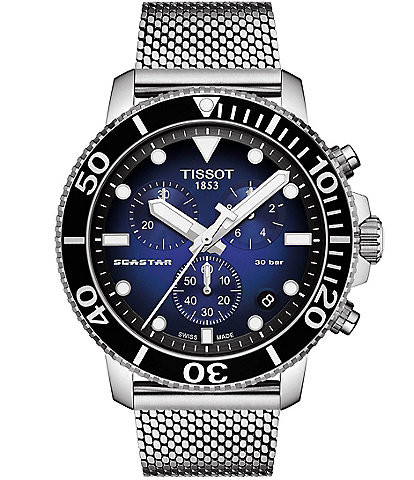 Tissot Seastar 1000 Chronograph Blue Dial Watch