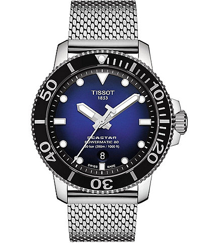 Tissot Seastar 1000 Powermatic 80 Blue Dial Watch