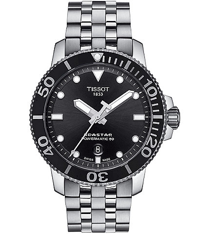 Tissot Seastar 1000 Powermatic Stainless Steel Watch