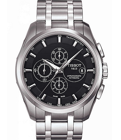 Tissot T-Classic Couturier Automatic Chronograph & Date Watch