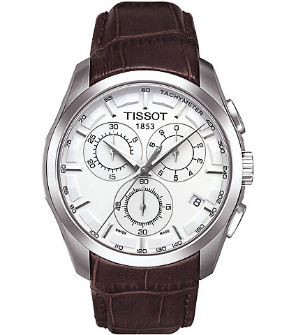Tissot Couturier Chronograph Watch