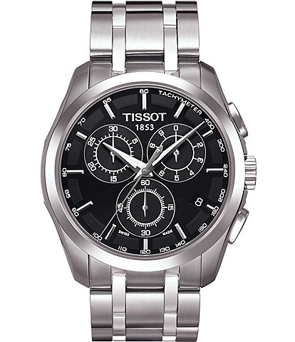 Tissot T-Classic Couturier Chronograph & Date Watch