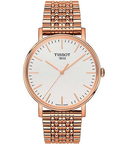 Tissot T-Classic Everytime Rose Gold Analog Bracelet Watch