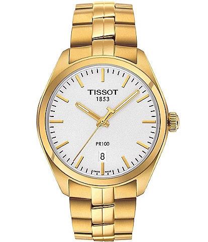 Tissot T-Classic PR 100 Analog & Date Bracelet Watch
