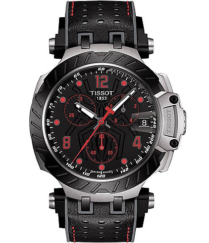 Tissot T-Race Marc Marquez 2020 Limited Edition Leather Watch