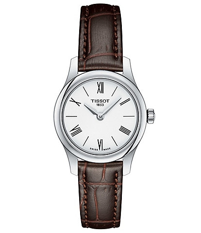Tissot Tradition 5.5 Lady Brown Leather 25mm Watch