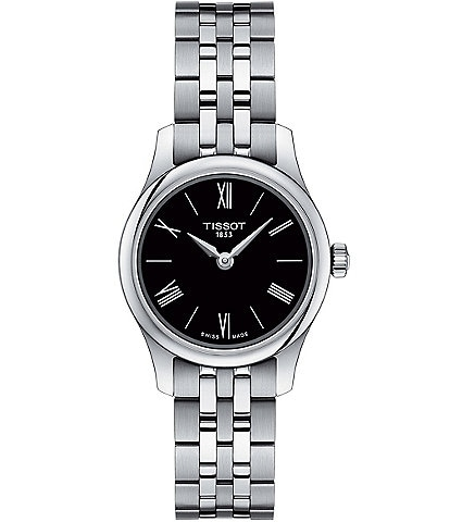 Tissot Tradition 5.5 Lady Silver Stainless Steel Watch