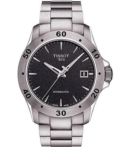 Tissot V8 Men's Stainless Steel Mechanical Automatic Watch